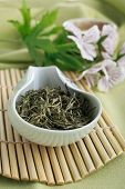 Chinese loose green tea