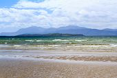 pic of bute  - Arran from Ettrick Bay Argyll and Bute Scotland UK - JPG