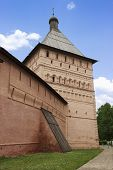 Tower Of Fortress Wall In The City Of Suzdal