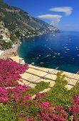 Positano on the Amalfi Coast, Italy, Europe