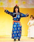Buryat Mongolian Model