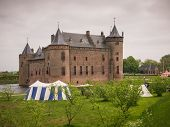 Muiderslot Castle In The Netherlands