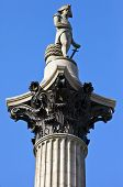 Nelson's Column In London.