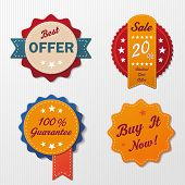 Six Sale Labels
