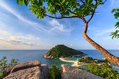 Beautiful Paradise Tropical Island Koh Tao Thailand