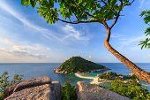 Beautiful Paradise Tropical Island Koh Tao Thailand
