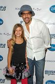 Lionel Richie and daughter Sophia at the Myzos Launch Party. Fred Segal, Santa Monica, CA. 08-22-09