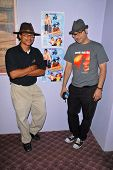Clinton H. Wallace and Ramzi Abed at the dual screenings of