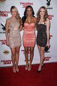 Katrina Bowden, Meagan Tandy, Danielle Panabaker at the