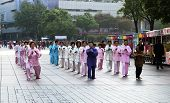 Taiji Quan_morning Shanghai