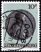 Postage Stamp Luxembourg 1985 King Philip Ii Of Spain