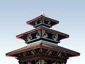 picture of mahadev  - durbar square  - JPG