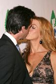 Adam Kaufman and Poppy Montgomery at the Natural Resources Defense Council's 20th Anniversary Celebr