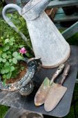 Old Romantic Gardening Items