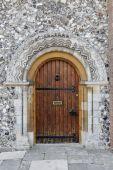 Norman period wooden door