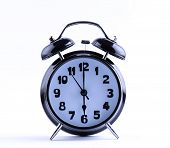 Alarm Clock  With Six O'clock