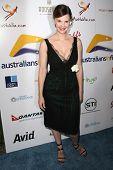 Kiersten Warren at the Australians In Film 2009 Breakthrough Awards. Hollywood Roosevelt Hotel, Holl
