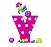 Alphabet Party Balloon Y