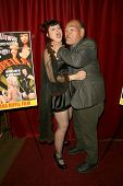 Jade Paris and Irwin Keyes  at the Los Angeles Premiere of 'Trasharella'. Lions Gate Screening Room, Santa Monica, CA. 05-09-09