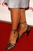 Shohreh Aghdashloo's shoes  at the 2009 Noche De Ninos Gala. Beverly Hilton Hotel, Beverly Hills, CA. 05-09-09