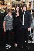 Katherine Schwarzenegger with Patrick Schwarzenegger and Christopher Schwarzenegger  at the Los Ange