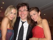 Paula LaBaredas with Jamie Gold and Alicia Arden at the 62nd Cannes Film Festival. Cannes, France. 05-17-09