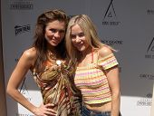 Alicia Arden and Paula LaBaredas at the 62nd Cannes Film Festival. Cannes, France. 05-17-09
