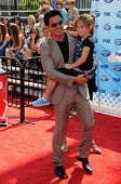 Antonio Sabato Jr and daughter Mina  at the 'American Idol' Grand Finale 2009. Nokia Theatre, Los An