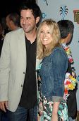 Jonathan Silverman and Jennifer Finnigan  at the Jon Lovitz Comedy Club Charity Opening, benefitting the Ovarian Cancer Research Fund. Jon Lovitz Comedy Club, Universal City, CA. 05-28-09