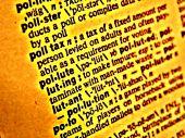 Dictionary Polution