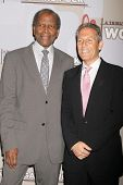 Sidney Poitier and Mark Litman at the Heart Foundation gala honoring Wolfgang Puck. The Beverly Wilshire Hotel, Beverly Hills, CA. 05-30-09