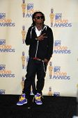 Lil Wayne in the Press Room at the 2009 MTV Movie Awards. Gibson Amphitheatre, Universal City, CA. 05-31-09