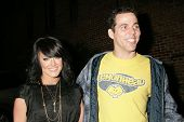 Lacey Schwimmer and Steve O at the Birthday Bash for Perez Hilton. Viper Room, Hollywood, CA. 03-28-09