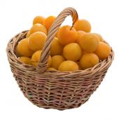 Cherry Plum In A Basket