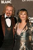 Thomas Gottschalk and Thea Gottschalk  at the Montblanc 'Signature for Good' Charity Gala. Paramount