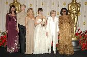 Anjelica Huston, Tilda Swinton, Goldie Hawn, Penelope Cruz, Eva Marie Saint and Whoopi Goldberg in the Press Room at the 81st Annual Academy Awards. Kodak Theatre, Hollywood, CA. 02-22-09
