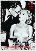 Marilyn Monroe - Niger Stamp