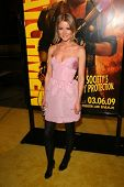 Anita Briem at the U.S. Premiere of 'Watchmen'. Grauman's Chinese Theatre, Hollywood, CA. 03-02-09