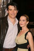 Goran Visnjic and wife Ivana at the U.S. Premiere of 'Watchmen'. Grauman's Chinese Theatre, Hollywoo