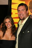 Missy Peregrym and Ben Roethlisberger at the U.S. Premiere of 'Watchmen'. Grauman's Chinese Theatre,