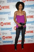 Rose Rollins at the farewell party for final season of 'The L Word'. Cafe La Boheme, West Hollywood,