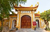 stock photo of trans  - Main gates of Tran Quoc Pagoda  - JPG