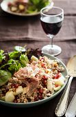 Spelt Salad With Chestnuts