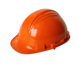 image of blue-collar-worker  - Construction workers hard hat isolated on white with clipping path - JPG