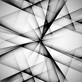 Vector abstract monochrome pattern line techno eps