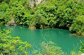 Lake in Canyon Matka