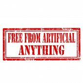 Free From Artificial Anything