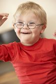 4 year old boy with Downs Syndrome