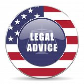 legal advice american icon