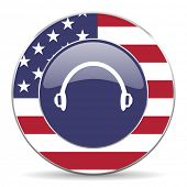 headphones american icon